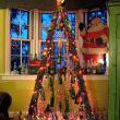 Vintage Soda Bottle Christmas Tree